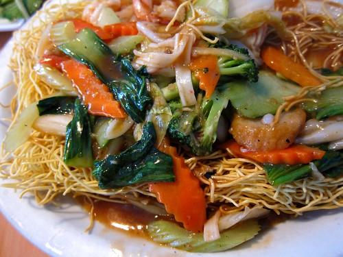 yummy crispy noodles