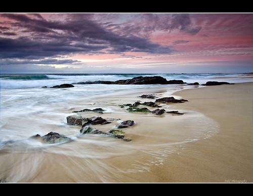 ocean sky beach water clouds canon sand rocks australia explore queensland sunshinecoast cokin gympie 50d explore1 impressedbeauty adamrandell gympiephotographer