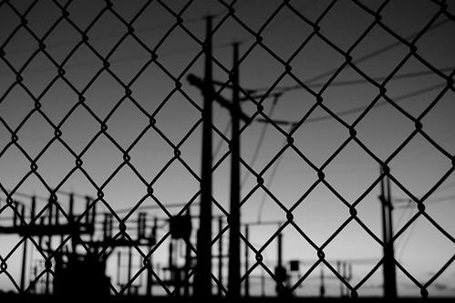 black sunrise electricity