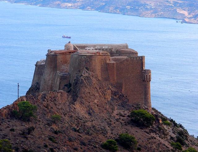 castle at Santa Cruz, Oran, Algeria