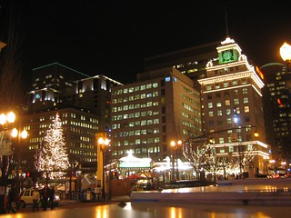 Downtown Portland Lights | by spaceninja