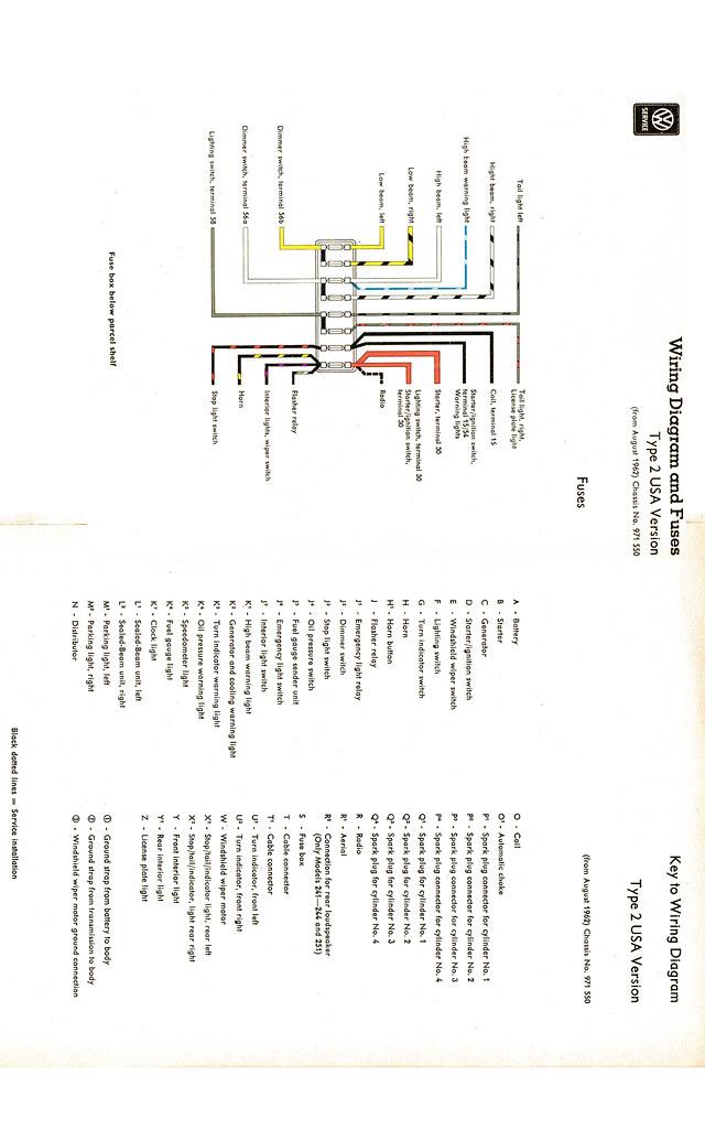 1965 VW Bus Wiring Diagram | for tyler's bus | Zeke ...