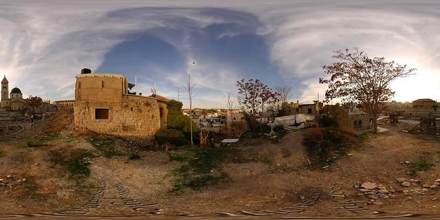 Rooftop / Hilltop - Jerusalem, Old City - 360°