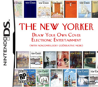 New Yorker entertainment for the Nintendo DS | by jkottke