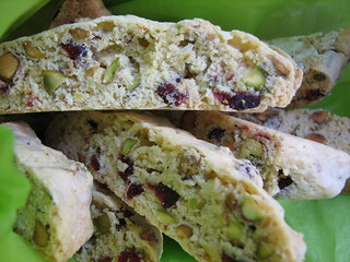 Cranberry Pistachio Biscotti - Take 2