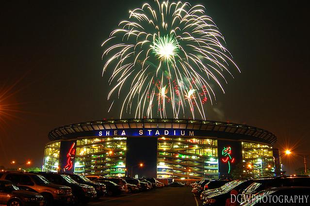 Fireworks Over Shea Stadium