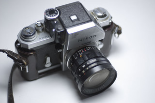 Nikon F Camera | by RandomConnections