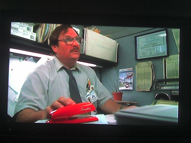 I Want A Red Swingline Stapler Watching Office Space Flickr