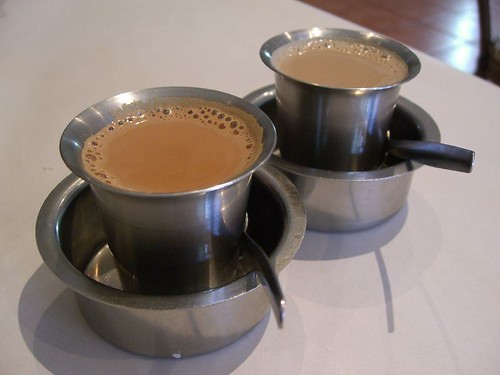 Masala Tea and South Indian Filter Coffee - Chennai Banana Leaf, Syndal