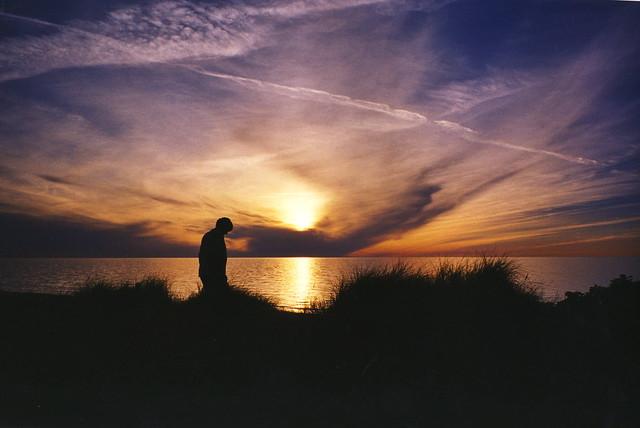 Late summer sunset, Denmark