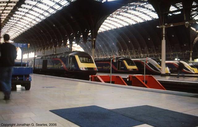 First Great Western Intercity 125s and Adelantes, London Paddington, London, England(UK), 2006