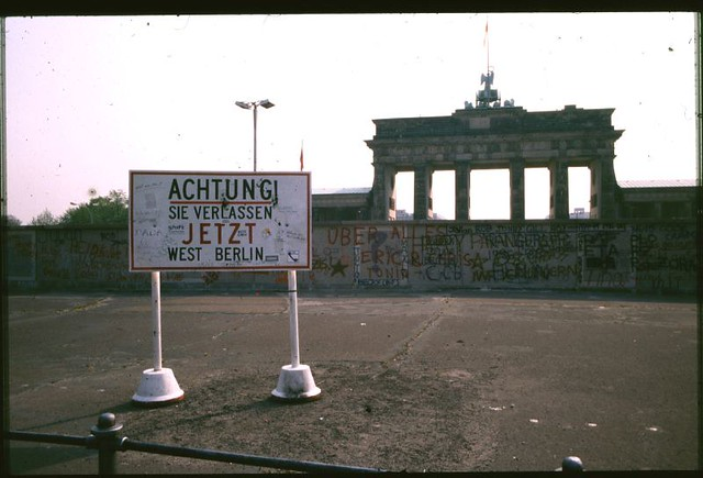 Brandenberg Gate 1988