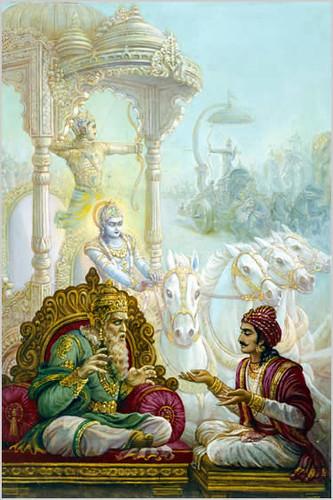 Sanjaya Tells Dhritarashtra about Gita | by Swami Gaurangapada