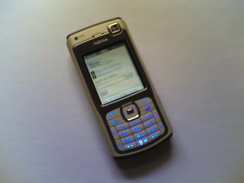 Flickr Mobile Site en Nokia N70 | by FreeCat