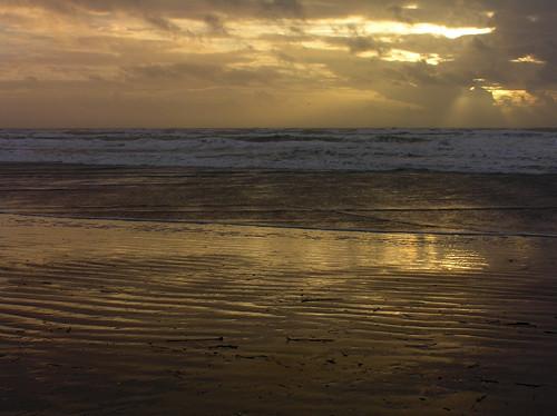 light sunset sea sky orange cloud sun france reflection beach nature water colors yellow clouds sunrise reflections dark landscape geotagged lights golden twilight lowlight sand warm waves colours cloudy