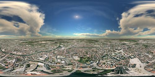 Panorama Mechelen vanaf 250m hoogte | by Stijn Swinnen (www.stijnswinnen.be)