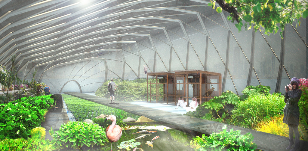 Greenhouse interior render | Rhino/Vray/Photoshop (thanks to… | Flickr