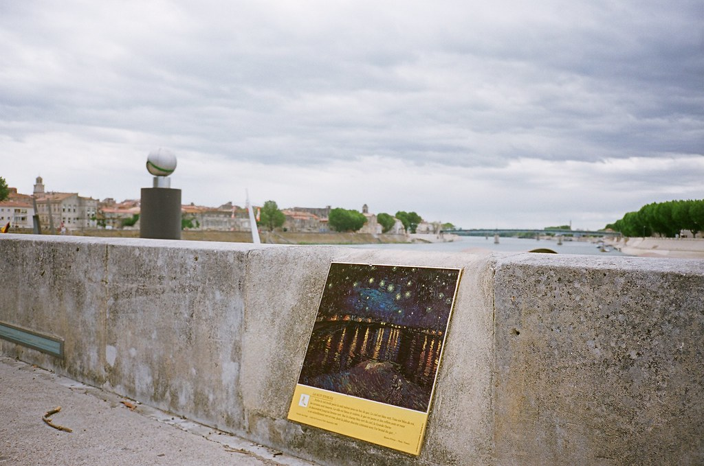 Nuit étoilée sur le Rhône