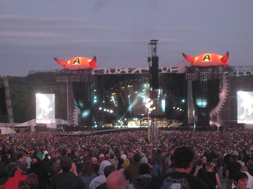 AC/DC stage at night | by jetsetwhitetrash