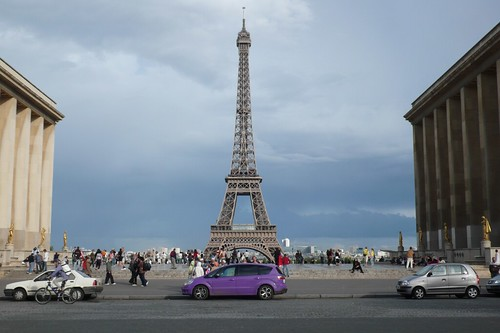 The Joneses in front of Eiffel Tower | by where are the joneses