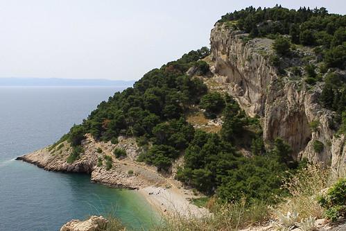 beach croatia adriatic nugal