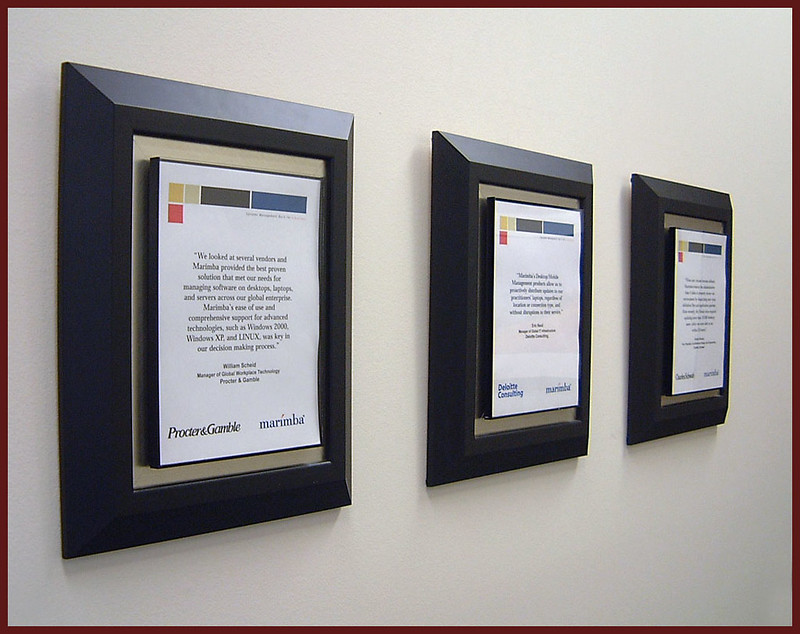 Client Testimonials - rotating display