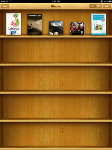 iBooks shelf | by thomaswanhoff