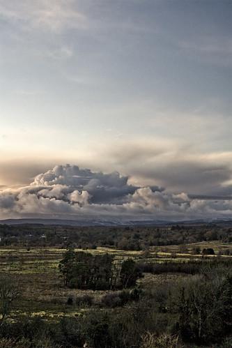 ireland sunset clouds leitrim countryleitrim