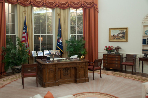 Reagan's Oval Office replica | by Herkie