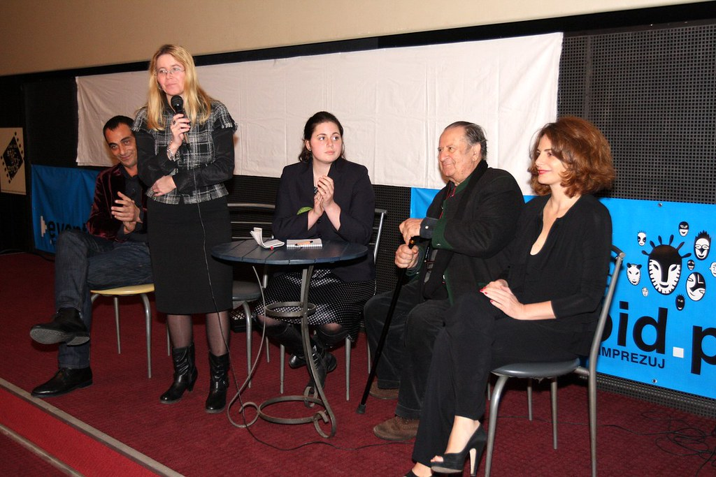 Spotkanie z Tinto Brassem, projekcja filmu KLUCZ, Kino Charlie, CINERGIA, 11.11.2010