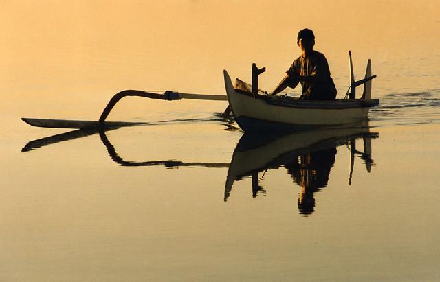 1998 Fisherman at Sunrise