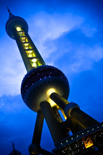 Live Earth China @ Shanghai Oriental Pearl TV Tower * The Tower, From CreativeCommonsPhoto