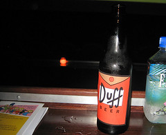Duff Beer at The Simpsons Feast | by J. Kernion