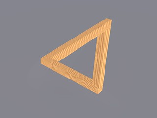 Penrose triangle | by fdecomite