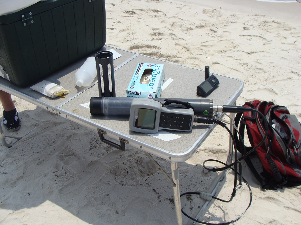 Water Sampling Equipment | On April 20, 2010, the Deepwater