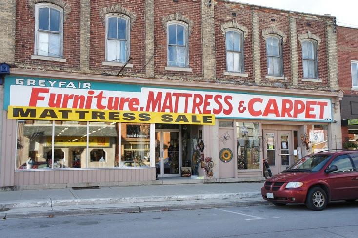 Mattress Amp Carpet Store Wiarton Ontario Downtown Store