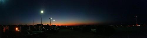 blue sunset panorama orange black yellow glow texas huntsville dusk samhoustonstateuniversity shsu