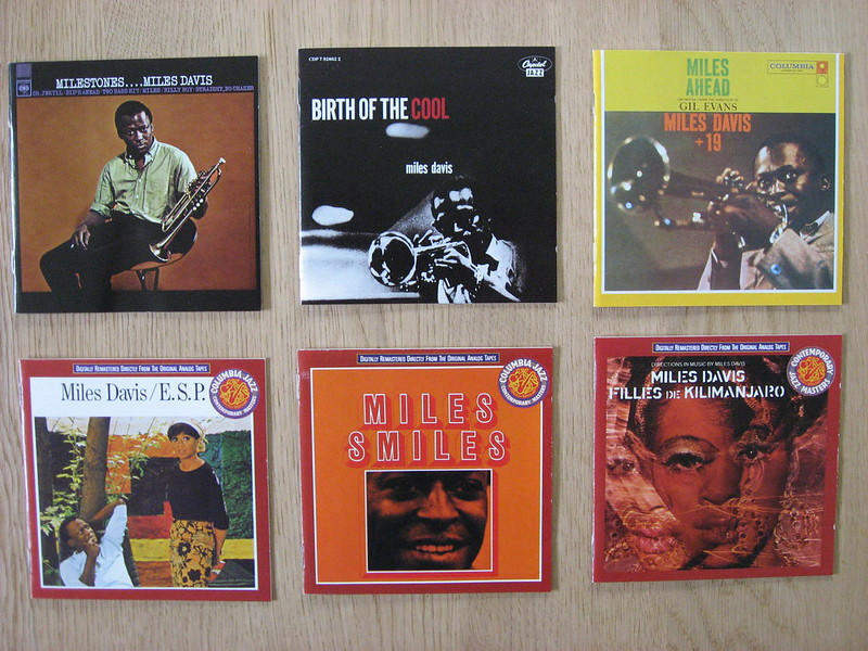 6 Miles Davis CDs (2)