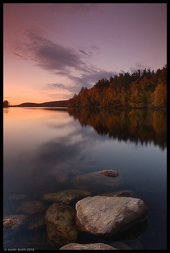 autumn lake reflection fall sunrise landscape nikond50 foliage justinsmith fitchburgma leefilters nikon1735mmf28 lovellreservoir