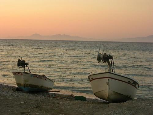 Sunset in Ixia   by karolajnat
