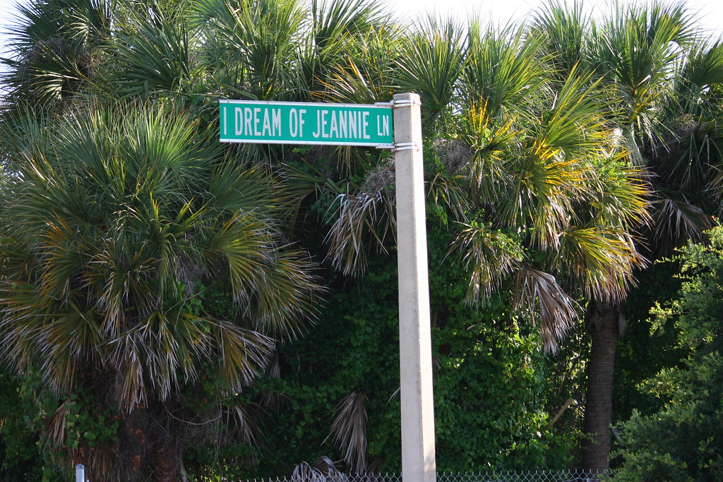 I Dream Of Jeannie Lane , Cocoa Beach Fl