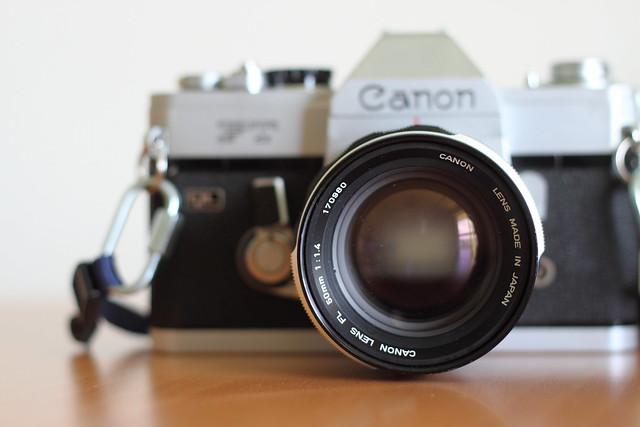 CANON FL 50mm F1.4 II