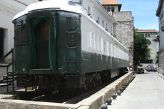 What's this carriage doing here?