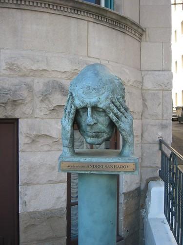 Andrei Sakharov | by futureatlas.com