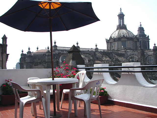 Hostel Catedral Mexico Terraza Hostelling Mexico Flickr