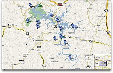 map of center hill lake Map Center Hill Lake Tennessee Check Out Our Ride Map Fo Flickr map of center hill lake