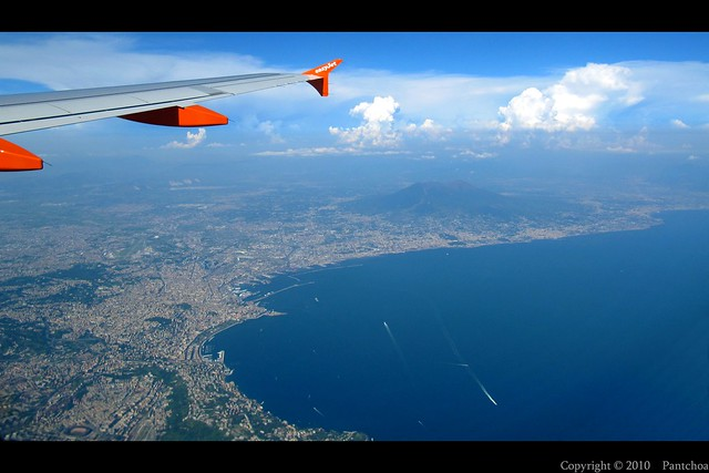 Naples from the sky - Naples - Nápoles - Napoli