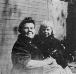 Grandmother with grandson | by W.C. Fields