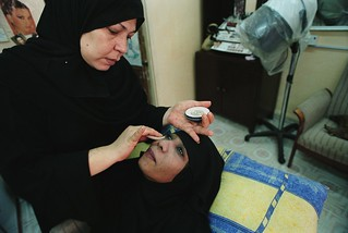 Local woman who received a small loan to open a beauty salon | by World Bank Photo Collection