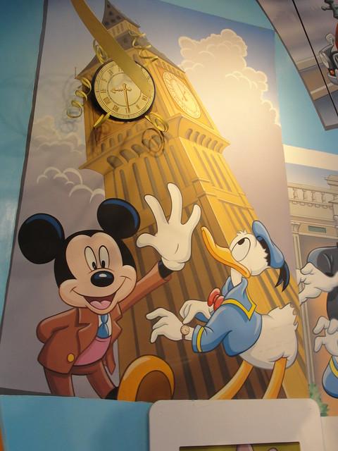 Mickey and Donald at Big Ben